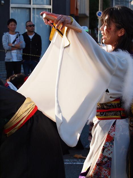 よさこい東海道2018~羽衣女人の舞い
