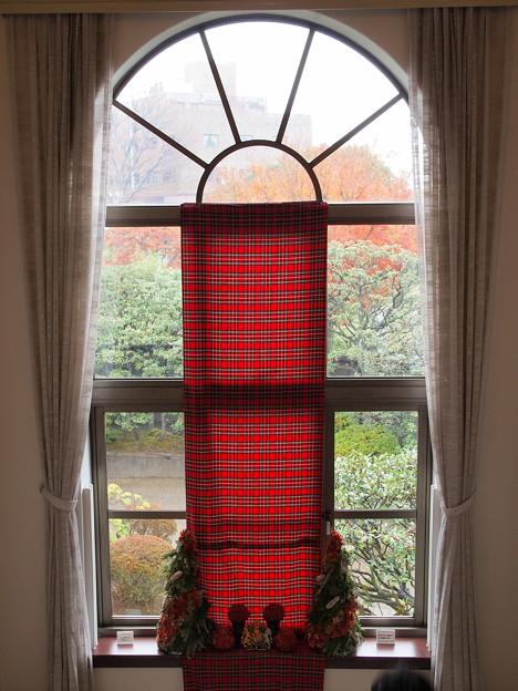 窓の外は…雨