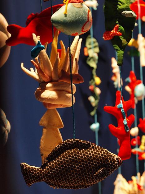 吊るし飾りなお魚さん(^^)