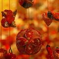 Photos: キラキラ吊るし飾り