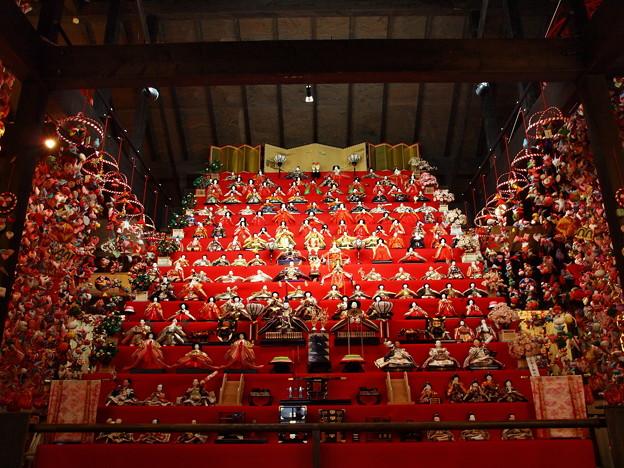 姫の館・大雛壇