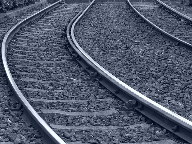 Photos: 線路は続く、どこまでも