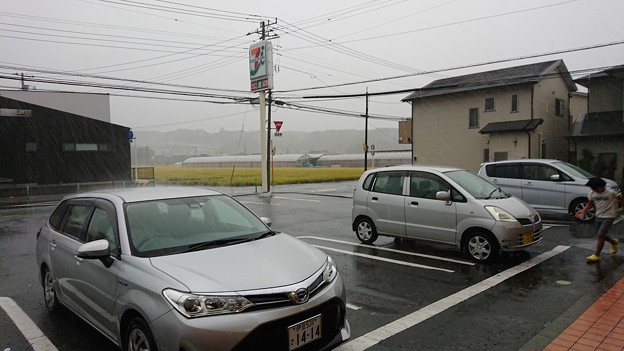台風襲来…1414^^;
