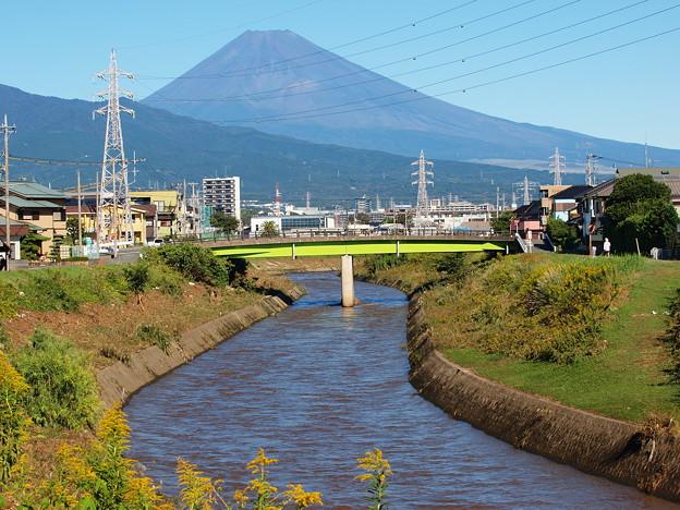 台風19号の爪痕~大場川・下川原橋