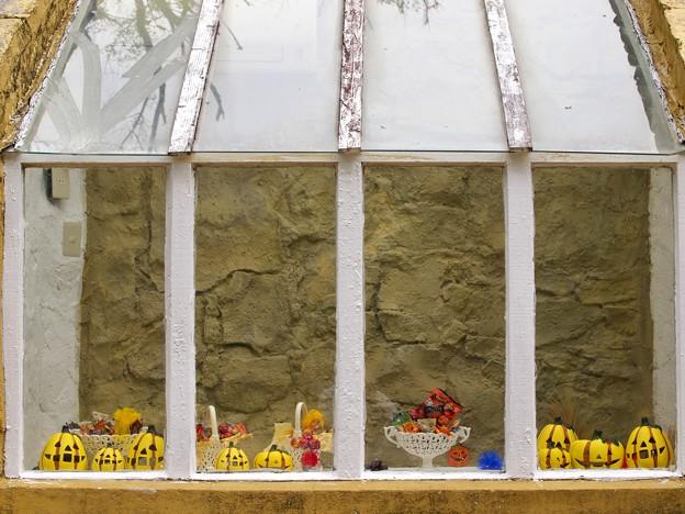 窓辺のハロウィーン
