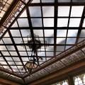 天井のステンドグラス -b