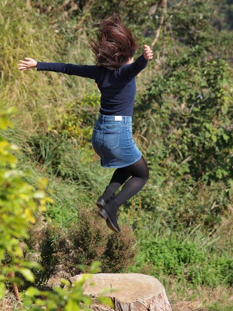 Jumpだよ、ぴょ~ん