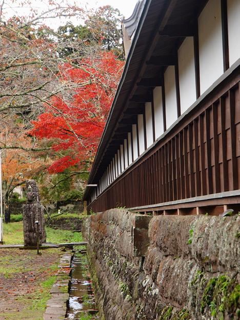 山寺の秋色