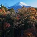 白糸の滝の秋色