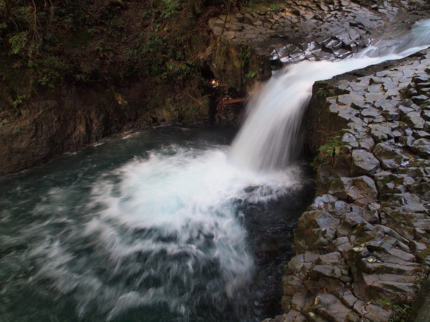 滝壺4段飛び