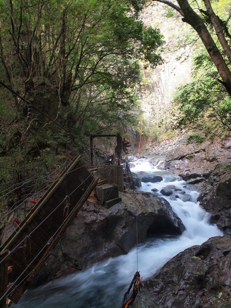 七滝を流るる