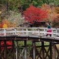 Photos: 叩いて渡ろう、太鼓橋