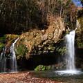 Photos: 初冬の陣馬の滝