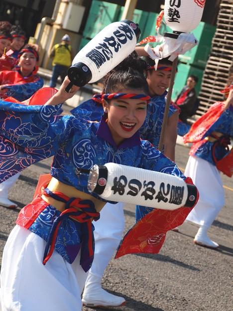 よさこい東海道2019~提灯の舞