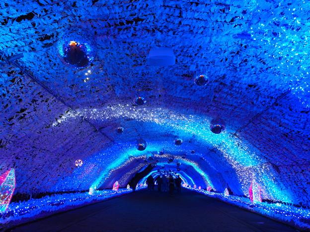 美しき蒼きトンネル