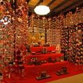 Photos: 雛壇を囲む吊るし飾り -b