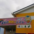 幸せの黄色いトイレ…(^^)