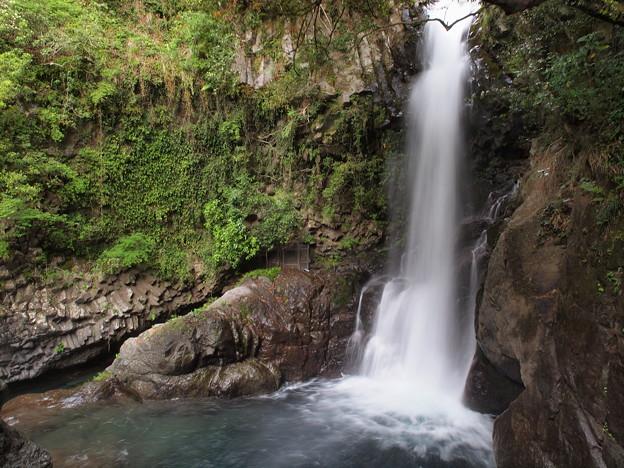 釜滝の水飛沫