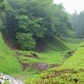 Photos: 山中城址に雨は降る