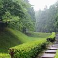 Photos: 山中城址に降る雨は…