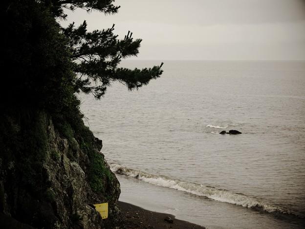 未だ梅雨明けせぬ牛込海岸