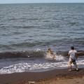 波間を駆ける
