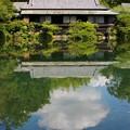 Photos: ぽっかり雲と楽寿館