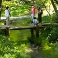 水辺でパシャ~自撮り