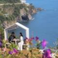 Photos: ふたりを包む海辺の花びら