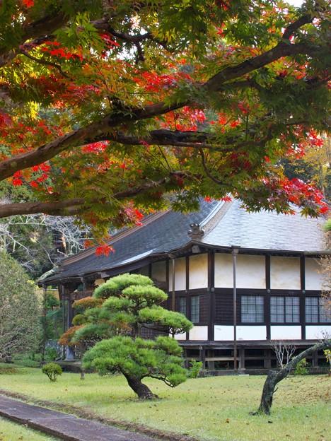 山寺の晩秋