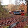 晩秋のロムニー鉄道