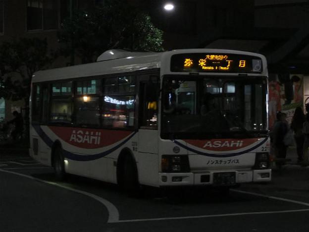 【朝日バス】  2213号車