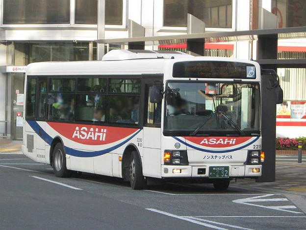 【朝日バス】 2215号車