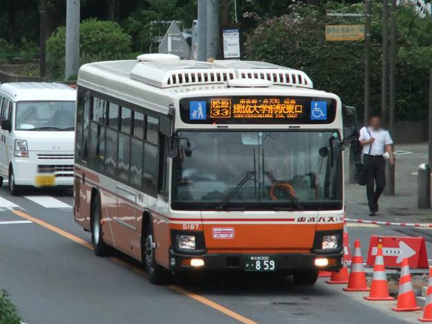 【東武バス】 5187号車