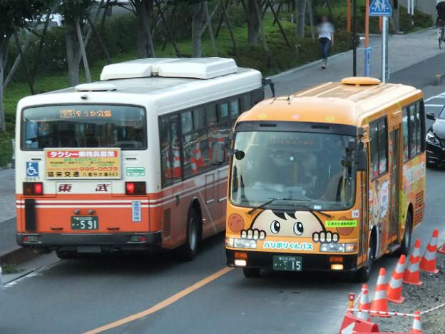 【東武バス】 9808号車