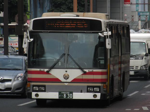 【関東自動車】 宇都宮200か830