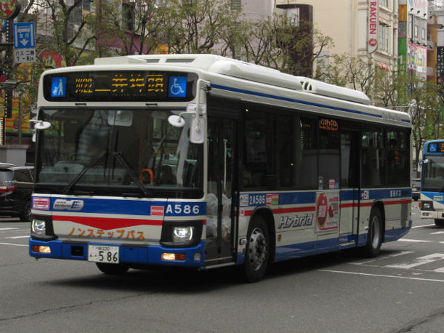 【川崎鶴見臨港バス】 2A586