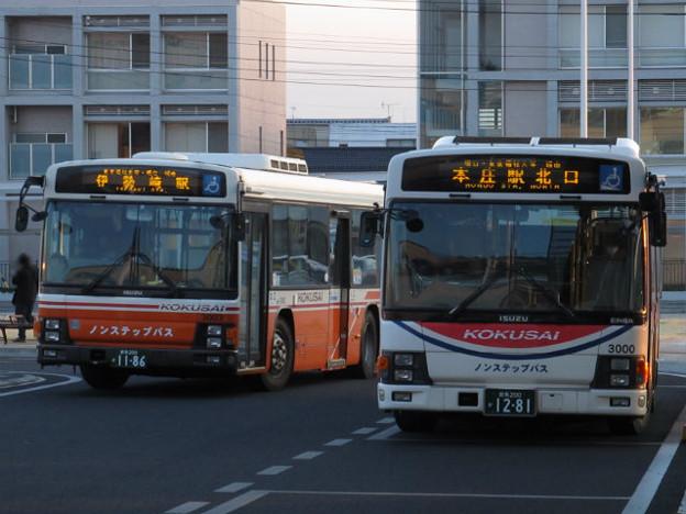 【国際十王交通】 3000号車