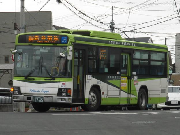 【国際興業】 6870号車
