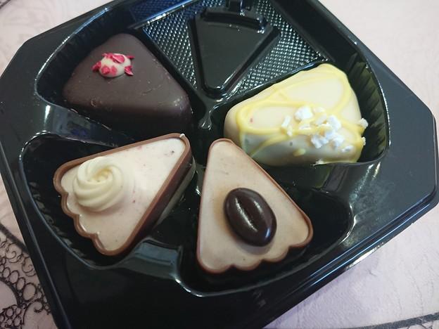 ラ フロンティエール スライスケーキチョコレート