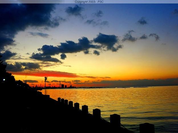 東京湾夕景