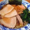写真: 焼豚麺@とら屋・北上市
