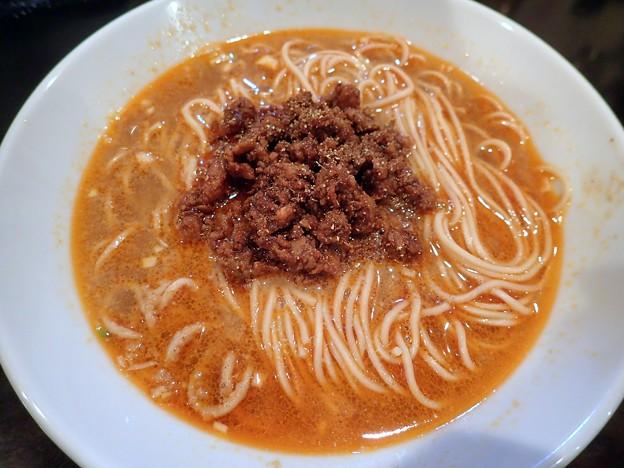 担々麺@人力俥・盛岡市