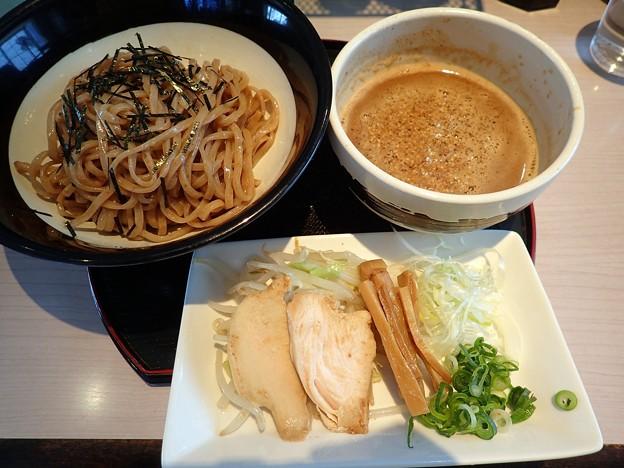 黒味噌つけ麺@味噌三礎・仙台市若林区
