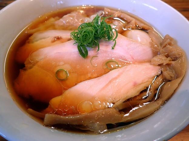 特製醤油ラーメン@トイ・ボックス・荒川区三ノ輪