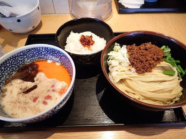 台湾細豆花麺+限定専用割り飯@一燈・葛飾区新小岩