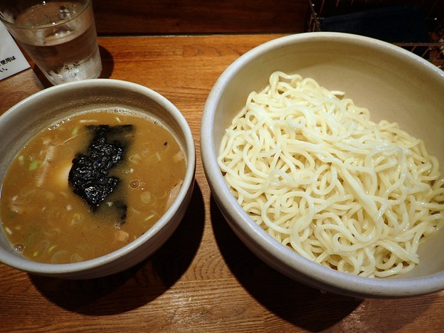 味玉つけ麺@吉左右・江東区木場