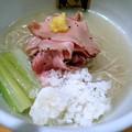 写真: 冷やし真鯛らーめん@麺魚・墨田区錦糸町