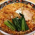 写真: 酸辣麺・辛さ普通+排骨@寿限無 担々麺・中央区人形町