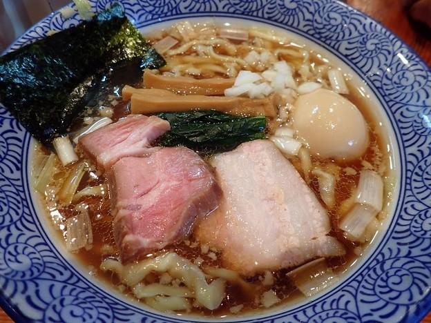 味玉手揉み中華蕎麦・醤油@ほん田・北区東十条
